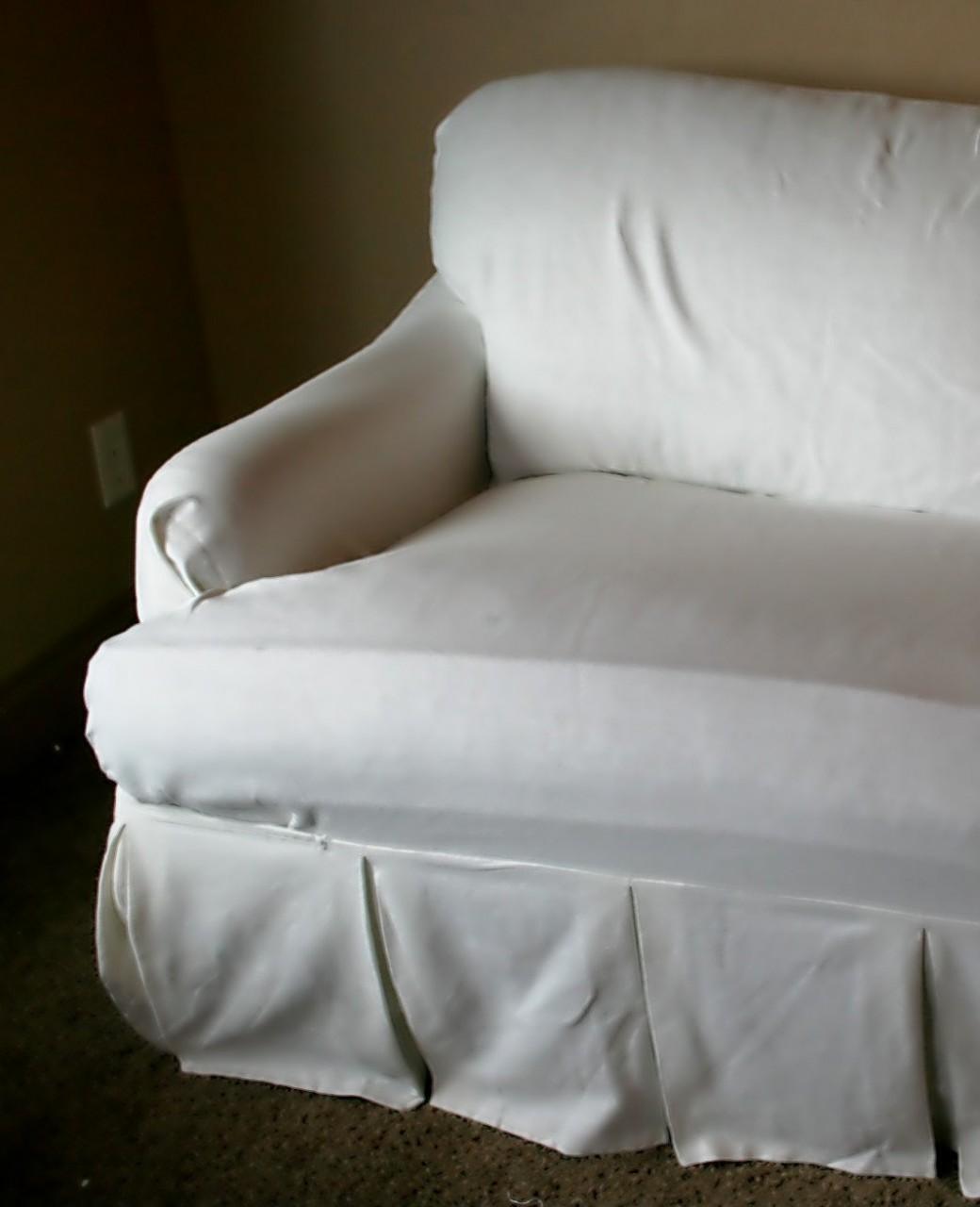 Stretch T Cushion Chair Slipcover Chair Pads Cushions